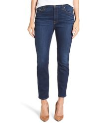 Jen7 - Stretch Ankle Skinny Jeans (authentic Royal) - Lyst