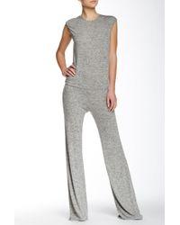 Riller & Fount - Cap Sleeve Wide Legged Jumpsuit - Lyst