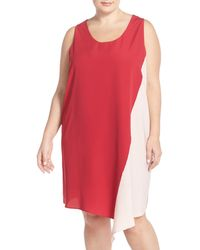 Halogen - Asymmetrical Shift Dress (plus Size) - Lyst