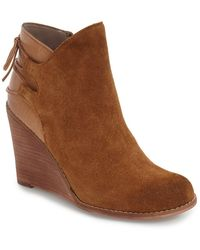Hinge - 'Tracer' Wedge Ankle Boot - Lyst