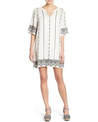 Hinge - Embroidered Caftan - Lyst