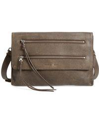 Treasure & Bond - Double Zip Convertible Crossbody Bag - Lyst