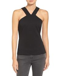 Trouvé - Textured Strappy Back Tank - Lyst
