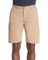 The Kooples - Cotton Chino Shorts - Lyst
