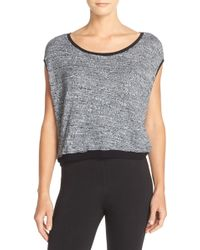 Hard Tail - Slub Crop Top - Lyst