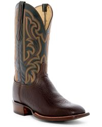 Lucchese - Genuine Leather Cowboy Boot - Lyst