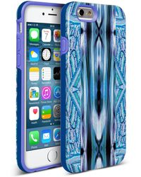 Nanette Lepore | Blue Ikat Feather Iphone 6/6s 2-piece Case | Lyst