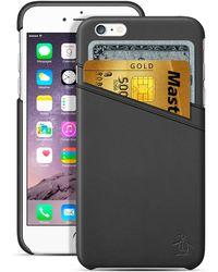 Original Penguin - Black Iphone 6/6s Credit Card Slot Case - Lyst