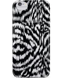 Nanette Lepore | Black Print Iphone 6/6s Frosted Case | Lyst