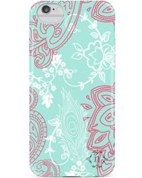 Nanette Lepore - Seafoam/pink Paisley Iphone 6/6s Case - Lyst