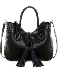 Isabella Fiore - Alexa Leather Shoulder Bag Tote - Lyst