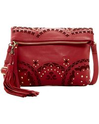 Isabella Fiore - Sabrina Leather Crossbody - Lyst