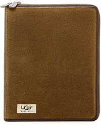 UGG Canvas Weekend Tablet Case - Brown