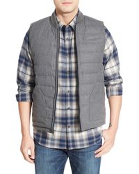 John W. Nordstrom - Quilted Reversible Down Vest - Lyst
