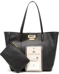 Ivanka Trump - Turner Leather Shopper With Charger - Lyst