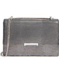 Ivanka Trump - Mara Leather Shoulder Bag - Metallic - Lyst