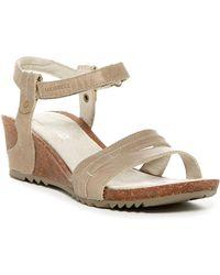 Merrell - Revalli Aura Strap Wedge Sandal - Lyst