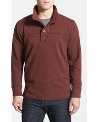 Jeremiah - 'taylor' French Terry Mock Neck Pullover - Lyst