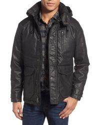 Jeremiah - 'baron' Coated Hooded Jacket - Lyst