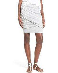 Rhythm - Twist Front Skirt - Lyst