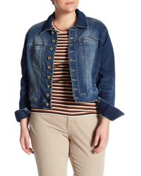 Jag Jeans - Savannah Denim Jacket (plus Size) - Lyst