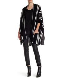 In Cashmere - Striped Cashmere Kimono Sweater - Lyst