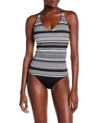 Jantzen & Jag Swimwear - Stripe Print Tankini Top - Lyst