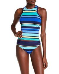 Jantzen & Jag Swimwear - Caribbean Stripe Bikini Bottom - Lyst