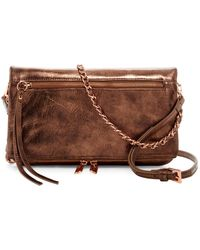 Joe's Jeans - Riley Leather Convertible Clutch - Lyst