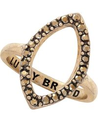 Lucky Brand - Pave Marquise Ring - Size 7 - Lyst