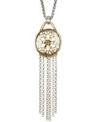 Lucky Brand - Sugarplum Fringe Necklace - Lyst