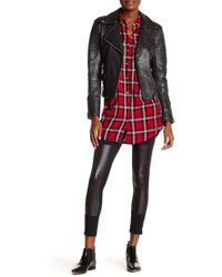 Jessica Simpson - Front Faux Leather Legging - Lyst