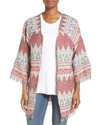 Roffe Accessories - Knit Kimono - Lyst
