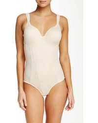 Joan Vass | Molded Cup Bodysuit (plus Size Available) | Lyst