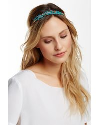 Cara - Beaded Chain Headwrap - Lyst