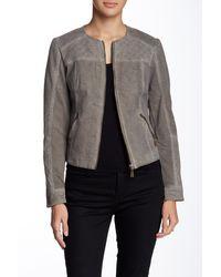 Lavand - Faux Leather Jacket - Lyst