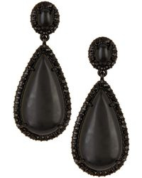 Lauren by Ralph Lauren - Large Teardrop Earrings - Lyst