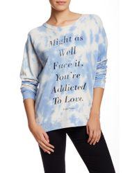 Junk Food - Long Sleeve Printed Pullover - Lyst