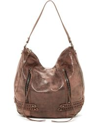 She + Lo - Bride Side Leather Hobo Bag - Lyst