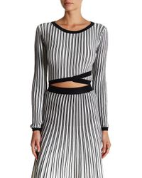 Lucy Paris - Patricia Long Sleeve Sweater - Lyst