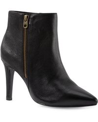 Liebeskind Berlin - Leather/suede Heeled Ankle Bootie - Lyst