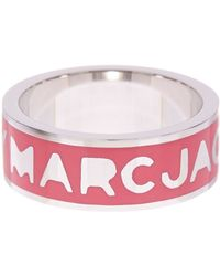 Marc By Marc Jacobs - Logo Band Ring - Lyst