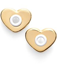 Marc By Marc Jacobs - Hole Hearted Stud Earrings - Lyst