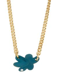 Marc By Marc Jacobs - Colored Wildflower Pendant Necklace - Lyst