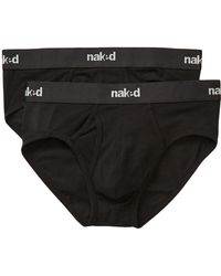 Naked - Brief - Pack Of 2 - Lyst