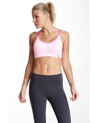 Balance Collection - Balance Collection By Marika Seamless Medium Impact Mesh Sport Bra - Lyst