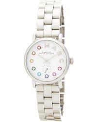 Marc By Marc Jacobs - Women's Baker Bracelet Watch - Lyst