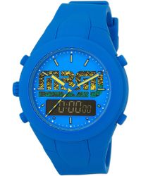 Marc By Marc Jacobs - Men's X-up Dual Time Silicone Watch - Lyst