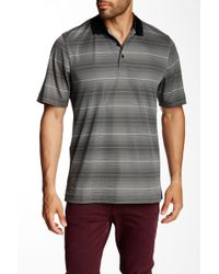 Cutter & Buck - Cb Drytec Commissioner Stripe Polo - Lyst