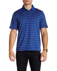 Cutter & Buck - Cb Drytec Backspin Stripe Polo - Lyst